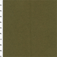 *1 1/4 YD PC--Olive Green Boiled Wool Coating