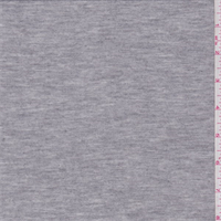Heather Sterling Grey Rayon Sweater Knit