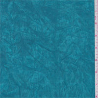 Crinkled Turquoise Blue Stretch Slinky