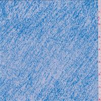 Aqua Blue/White Heathered Activewear