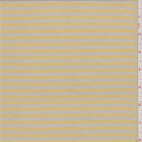 Sand/Yellow Gold Stripe T-Shirt Knit