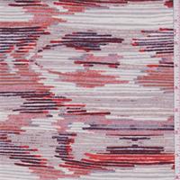 ITY Ivory/Mauve/Orange Jersey Knit