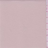 Pale Peach Pique Jacquard Knit