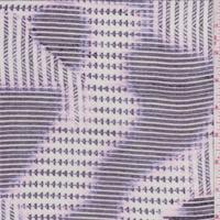 Ivory/Smoke/Lilac Patchwork Sweater Knit