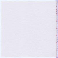 White Rib Knit