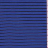 Sapphire/Black Stripe Thermal Knit