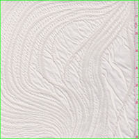 *2 YD PC--Buttercream Swirl Jacquard Sweater Knit