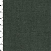 *1 1/8 YD PC--Dark Grey Wool Crepe Suiting