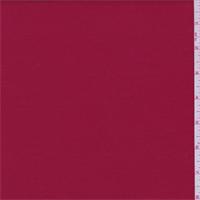*2 5/8 YD PC--Crimson Red Sweatshirt Fleece