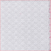 White Lattice Crochet Lace