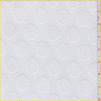 White Polka Dot Lace