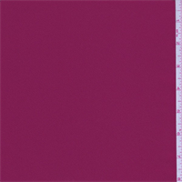 Berry Red Polyester Charmeuse