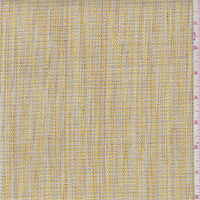 Gold/Taupe Polyester Crosshatch Upholstery