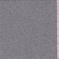 Heather Grey Wool Flannel