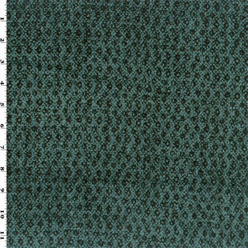 Ocean Blue Chenille Textured Woven Home Decorating Fabric