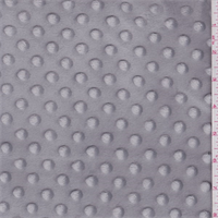 Medium Gray Minky Dot Bolt