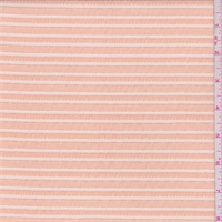Peach Organza Stripe