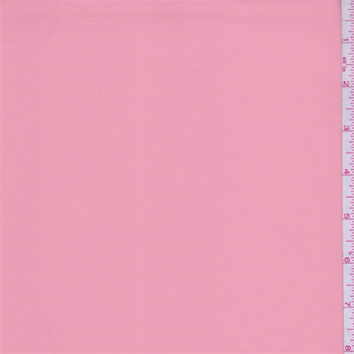 Coral Pink Faux Leather 64560 Fashion Fabrics
