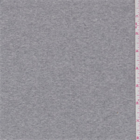 Heather Grey Cotton Rib Knit