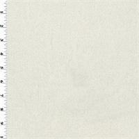 *1 3/8 YD PC--Ivory Wool Momie Flannel