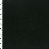 *1/2 YD PC--Black Wool Double Cloth Jacketing