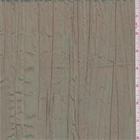 Iridescent Golden Aquamarine Crushed Polyester Taffeta