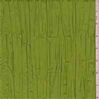 Golden Avocado Iridescent Crushed Polyester Taffeta