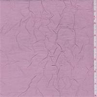 Creamy Pink Crushed Polyester Taffeta