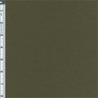 *2 3/8 YD PC--Olive Green Stretch Slub Rayon Jersey Knit