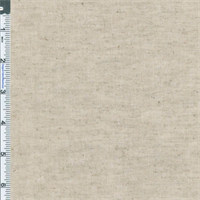 *3 YD PC--Natural 6 to 7 oz Stretch Linen Blend
