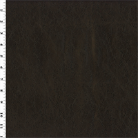 *2 YD PC--Dark Brown Faux Leather Upholstery
