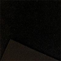 *1 YD PC--Single Sided Sweatshirt Fleece - Black