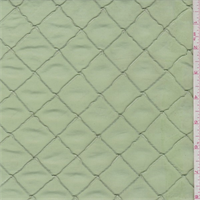 Soft Lime Pintuck Taffeta