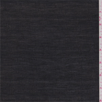 *2 YD PC--Black Linen Blend Gauze
