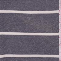 Heather Graphite/Ivory Stripe Sweater Knit