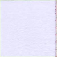 White Fine Line Twill Shirting