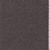Bark Brown Jacquard Knit