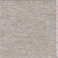 Sand/Ivory Fine Sweater Knit