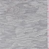 White/Graphite Lightweight Sweater Knit