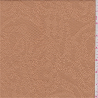 Bisque Scroll Pique Jacquard