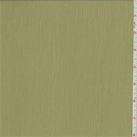 Willow Green Crinkled Chiffon