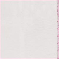 Chalk Rayon Jersey Knit