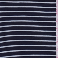 Blue/White Stripe Cotton Knit