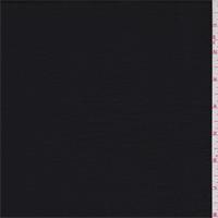 Jet Black Polyester Georgette