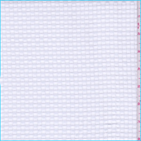 Bright White Basketweave Novelty Shirting