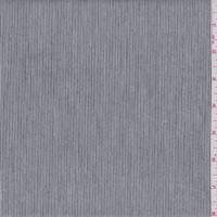Black/White Pinstripe Shirting