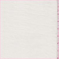 Ivory Crosshatch Linen