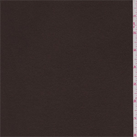 *1 1/2 YD PC--Mocha Brown Fleece Coating