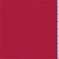 *3 YD PC--Lava Red Rayon Challis