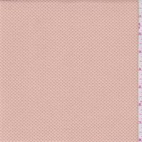 Dusty Peach Pique Knit